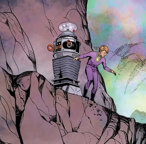 LOST IN SPACE #5 Preview Pages