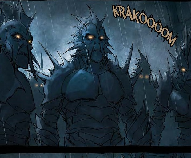 It's back! BROKEN MOON: LEGENDS OF THE DEEP #2 Preview Pages